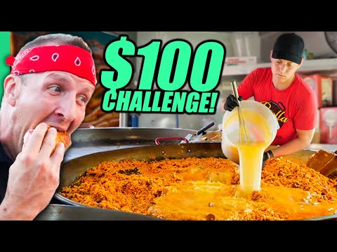 Download $100 Food Truck Challenge!! USA's Street Food of the North!!