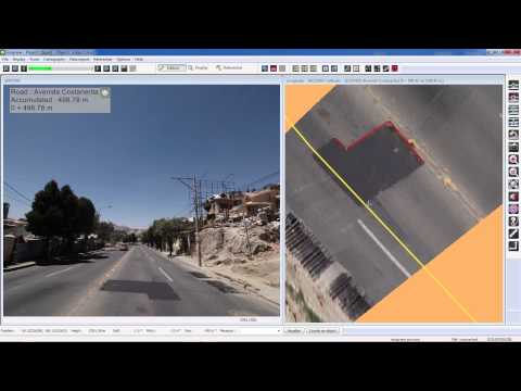 Imajing, mobile mapping system for road surveying