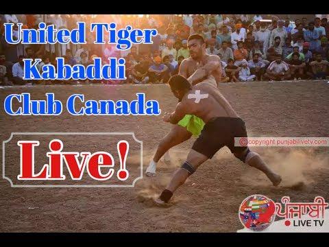 United Tiger Kabaddi Club Canada LIVE