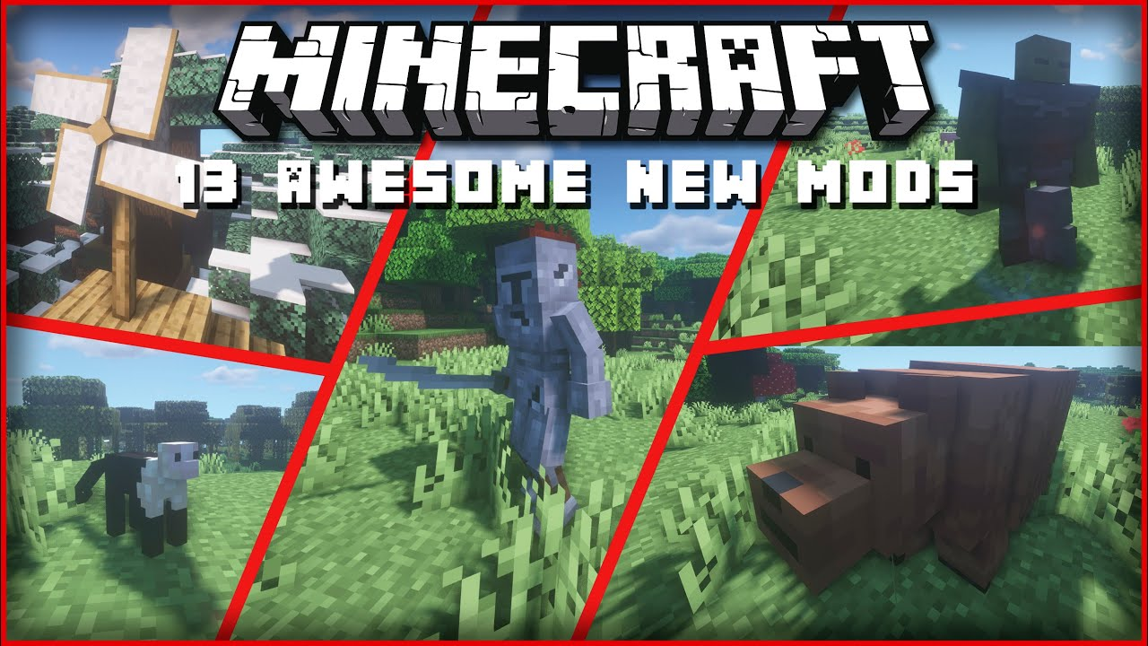 Top 8 New Minecraft 8.86.8 Mods for Forge & Fabric! [NEW ANIMALS, ENEMIES,  TECHNOLOGY MODS]