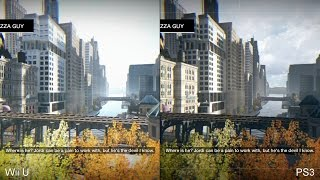 Watch Dogs: Wii U vs PS3 Comparison