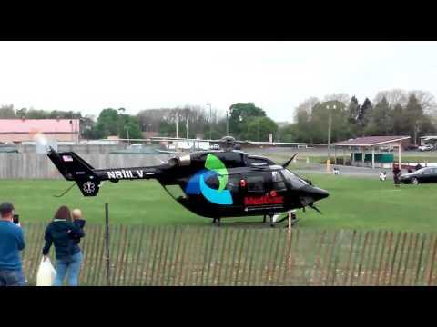 Lehigh Valley Health Network MedEvac Helicopter Takeoff