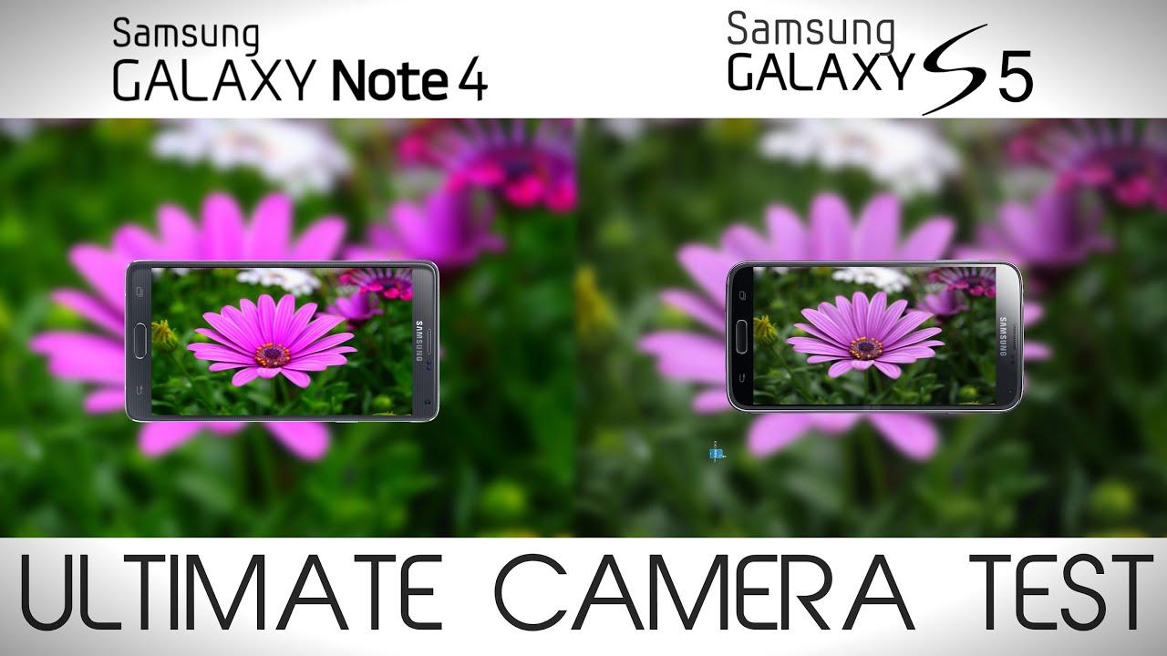 samsung galaxy note 4 vs galaxy s5   camera comparison