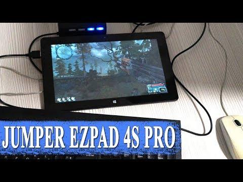 "ОБЗОР JUMPER EZPAD 4S PRO ПЛАНШЕТНЫЙ ПК 10.6"" НА WINDOWS 10 4ГБ RAM 64ГБ ROM"