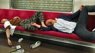 Япония. Как отдыхают и пьют японцы. Беседы с Аней.