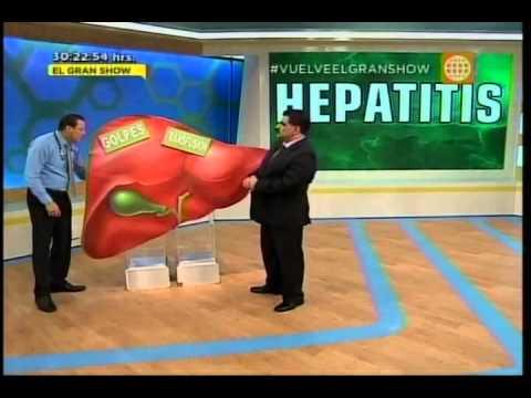 Dr. TV Perú (15-05-2015) - B1 - Tema del Día: Hepatitis