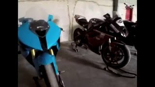 Dubai Bike - Chevrolet Impala 700 HP, BWM 1000rr Modified back fire
