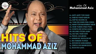 Melodious MOHAMMAD AZIZ Evergreen Songs | Romantic Hindi Songs Of MD AZIZ |High Quality Audio