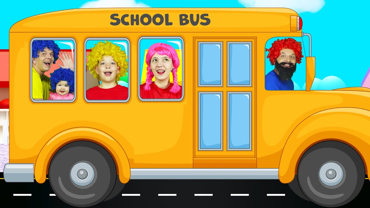 Wheels On The Bus + more Cartoons & Kids Songs with Max