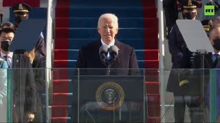 YouTube動画:'This is democracy's day' | Joe Biden's speech on Inauguration Day