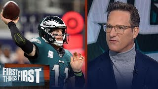 Eagles vs Bills could be defining moment for Carson Wentz — Danny Kanell | NFL | FIRST THINGS FIRST