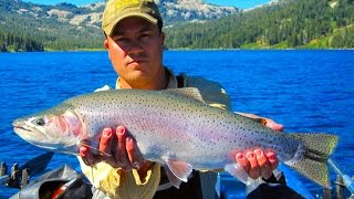 Independence Lake - Lahontan Cutthroat Trout Fly Fishing Trip