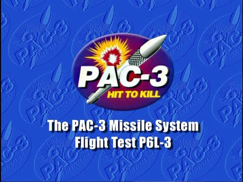 The PAC-3 Missile System Test P6L-3