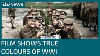 Peter Jackson documentary shows WWI in true colours | ITV News