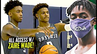 Zaire Wade Opens Up About Teaming Up w/ Bronny, Going to Brewster & His YnG DnA Brand!
