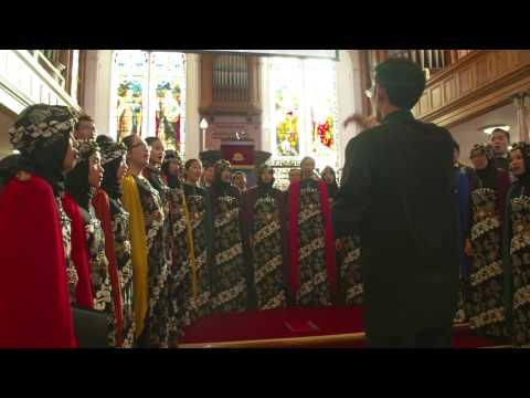 Bogor Agricultural University Student Choir Indonesia - Sacred Trail
