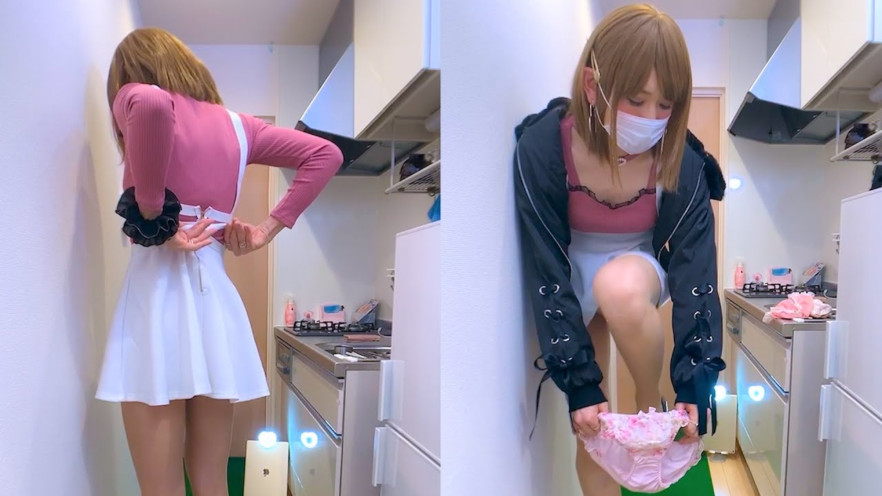 【ミニスカチャレンジ】大人のおもちゃ仕込んでスカート限界まで上げたら...!!!!【よそきわちゅーぶ】