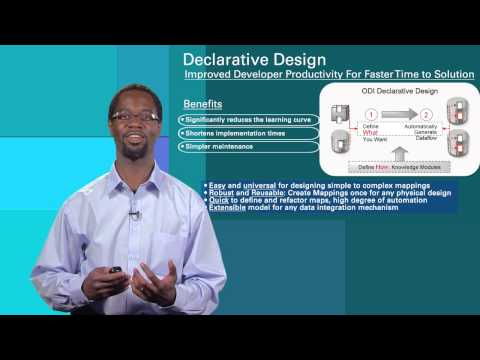 Oracle Data Integrator 12c Overview
