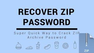 ZIP Password Recovery: Super Quick Way to Crack ZIP Archive Password