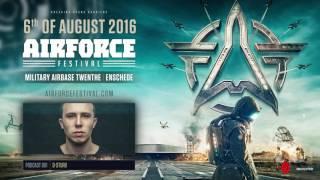 Video AIRFORCE Festival 2016   Podcast 001   D-Sturb download MP3, 3GP, MP4, WEBM, AVI, FLV November 2017