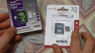 видео Карта памяти microSD 4Gb 10 class + переходник