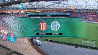 Futbol en vivo.Estudiantes LP-Godoy Cruz.Fecha 2. Primera División 2015.FPT.