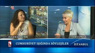 Cumhuriyet ışığında söyleşiler -14.08.2017 Tuba Emlek ile İstanbul