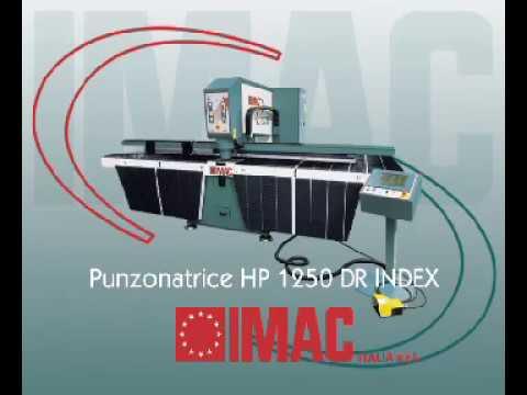 PUNZONATRICE A CNC  - CNC PUNCHING MACHINE HP1250 INDEX