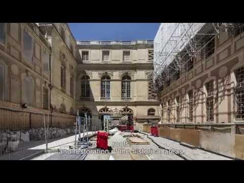 Le chantier du Pavillon Dufour