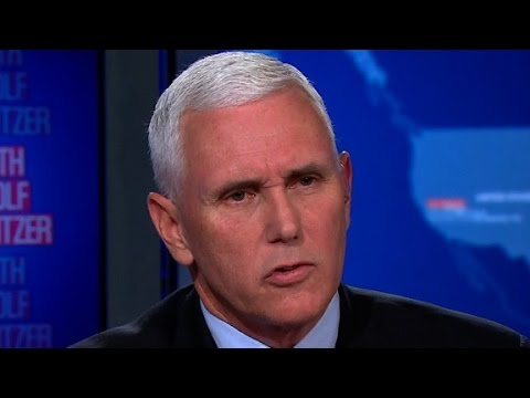 Mike Pence Sit Room interview (part one)