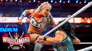 The Riott Squad put teamwork on display: WrestleMania 37 – Night 1 (WWE Network Exclusive)