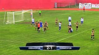 Erbaaspor 2-1 Termespor Maç Özeti