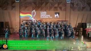 Angklung SMP Negeri 1 Subang (BAsS) - Lomba Musik Angklung Padaeng 8