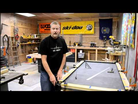 How to Build a Pool Table, Part 7 - Efforts in Frugality - Episode 5
