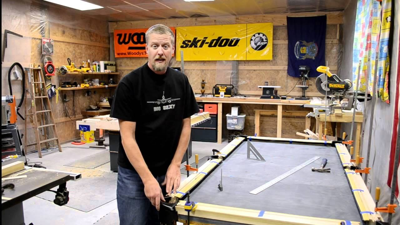 Build your own pool table plans - How To Build A Pool Table Part 7 Efforts In Frugality Episode 5 Youtube