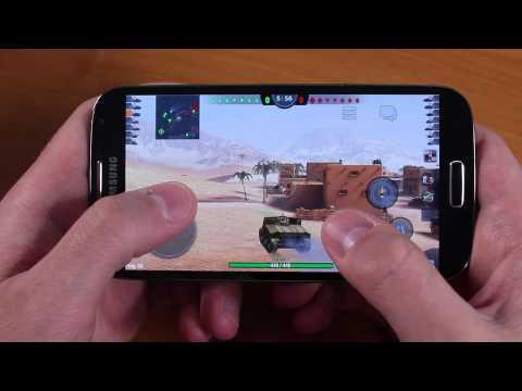 Как Идет WOT Blitz на Samsung S4 Black Edition