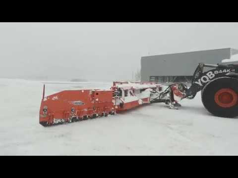 Snow Plows for Airport