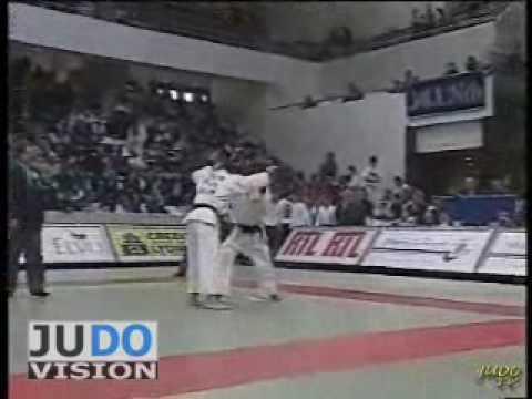 JUDO 1996 Tournois de Paris: Yacine Douma FRA - Manolo Poulot CUB