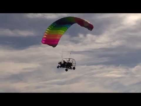 Captain Phil Shaw Perfects Landing A Powered Parachute