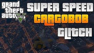 GTA 5 Online - Super Speed Cargobob Glitch - Go Extremely Fast + Flying Dump Truck Glitch!