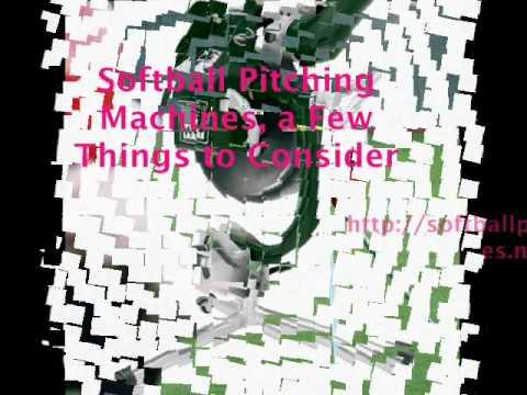 Softball Pitching Machines