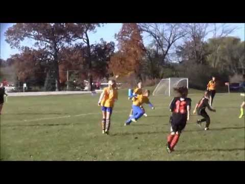 Plymouth U10 Girls Academy Pink Panthers Soccer Highlights- Fall 2014