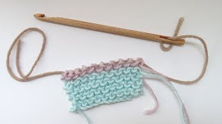 In this tutorial I show the art of Knooking and how to knook the purl stitch using a knooking needle hook. You can buy these hooks from my website at ...