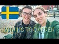 WE'RE MOVING TO SWEDEN !!!