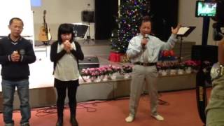 Saya David Lah, Saya San Toe & MCF Denmark Christmas 2012 (