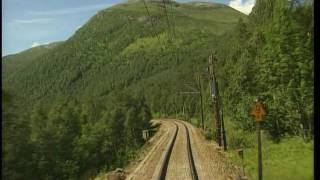 World railways. Norway. Myrdal - Bergen