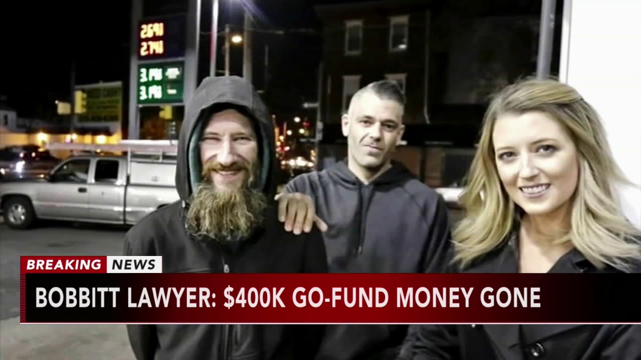 Johnny Bobbitt's lawyer says all $400000 in GoFundMe money is gone