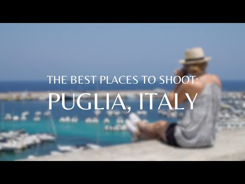 Photography in Puglia, Italy