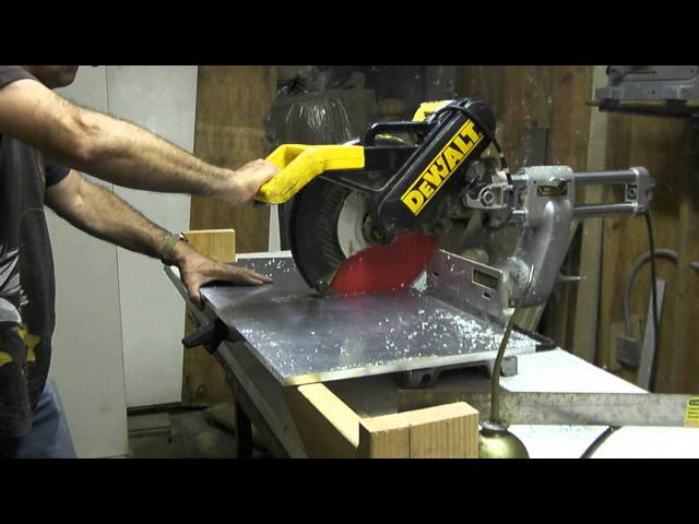 cutting 1/2 inch aluminum plate