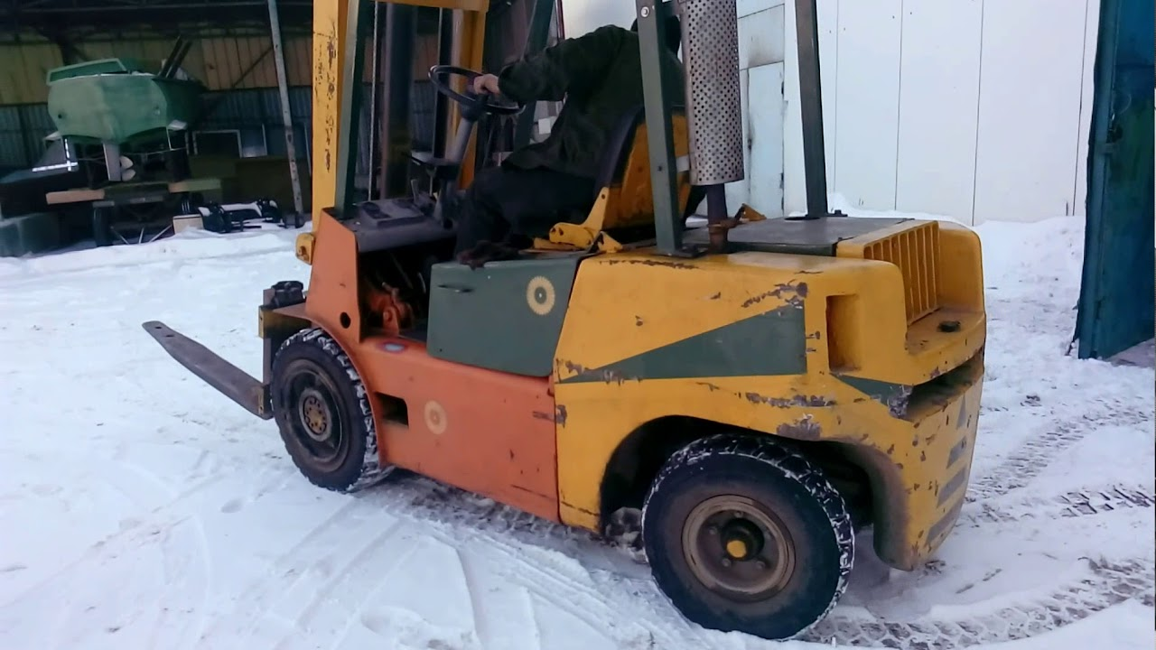 loader Balkancar after repair/погрузчик Балканкар после ремонта